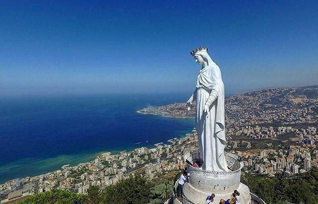 harissa beeld dagtocht libanon